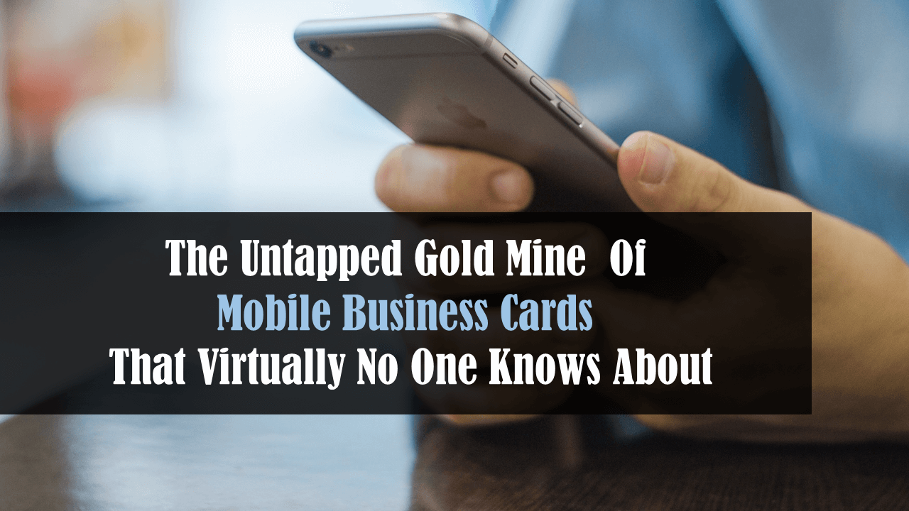 THE AIDA CARD – Your Total Mobile Marketing System